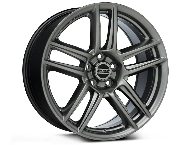 Laguna Seca Style Hyper Black Wheel - 19x9 (05-14 All)