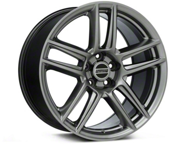 Laguna Seca Style Hyper Black Wheel - 19x10 (05-14 All)