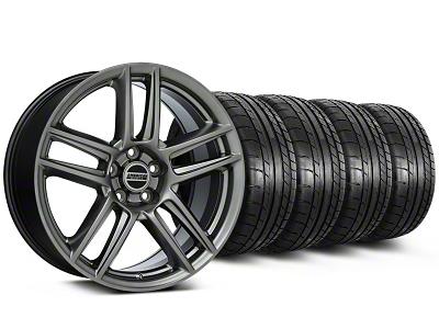 Laguna Seca Style Hyper Black Wheel & Mickey Thompson Tire Kit - 19x9 (05-14 All)