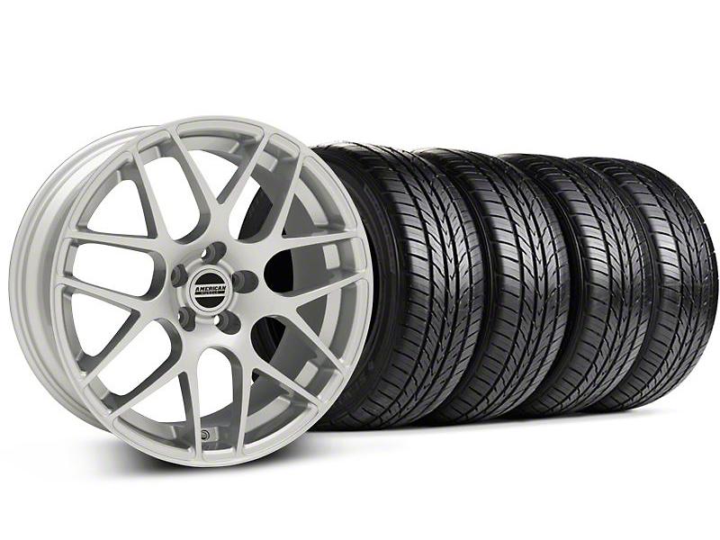 AMR Silver Wheel & Sumitomo Tire Kit - 18x8 (94-98)