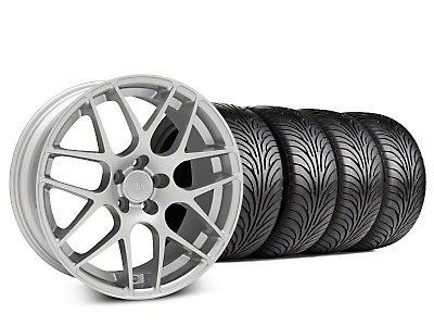 AMR Silver Wheel & Sumitomo Tire Kit - 18x8 (99-04 All)