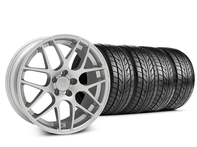 AMR Silver Wheel & NITTO Tire Kit - 18x9 (94-98)