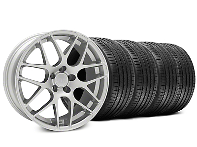 AMR Silver Wheel & Sumitomo Tire Kit - 18x9 (94-98)