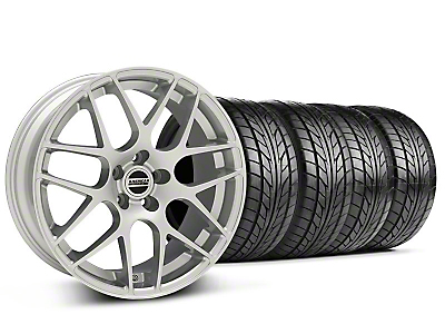 AMR Silver Wheel & NITTO Tire Kit - 18x9 (99-04 All)