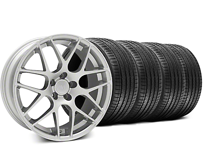 AMR Silver Wheel & Sumitomo Tire Kit - 18x9 (99-04 All)