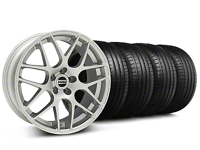 AMR Silver Wheel & Falken Tire Kit - 18x9 (99-04 All)
