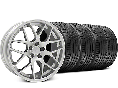 AMR Silver Wheel & Sumitomo Tire Kit - 18x9 (05-14 All, Excludes 13-14 GT500)