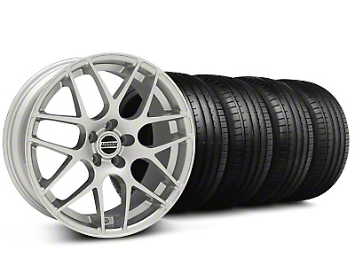 AMR Silver Wheel & Falken Tire Kit - 20x8.5 (05-14 All)
