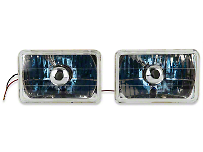 Chrome Headlight - Pair (79-86)