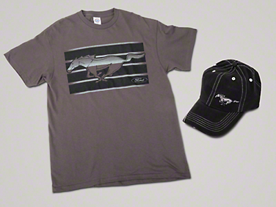 Running Pony T-Shirt & Hat Combo