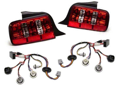 Raxiom Coyote Tail Lights and Sequential Combo (05-09 All)
