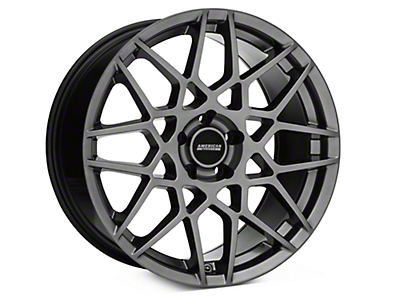 2013 GT500 Style Hyper Dark Wheel - 19x9.5 (15-16 All)