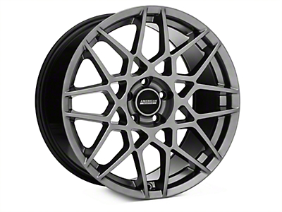 2013 GT500 Style Hyper Dark Wheel - 19x10 (15-16 All)