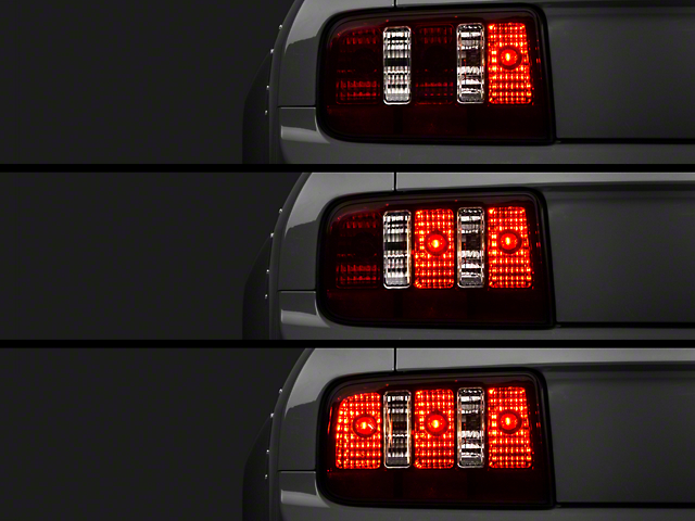 Raxiom Smoked Coyote Tail Lights and Sequential Combo (05-09 All)