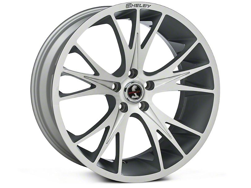 Shelby CS1 Hyper Silver Wheel - 20x9 (05-14 All)