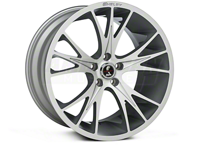 Shelby CS1 Hyper Silver Wheel - 20x11 (05-14 All)