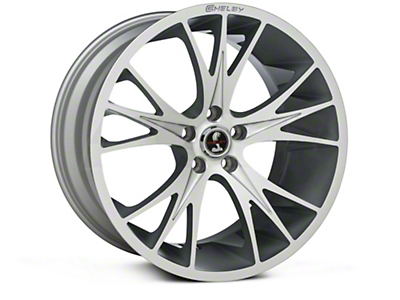 Shelby CS1 Hyper Silver Wheel - 20x11 (15-16 All)