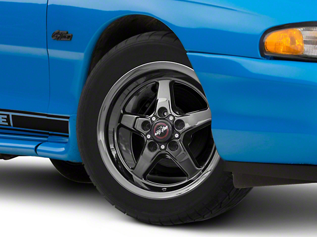 Race Star Dark Star Drag Wheel - Direct Drill - 15x3.75 (94-04 GT, V6)