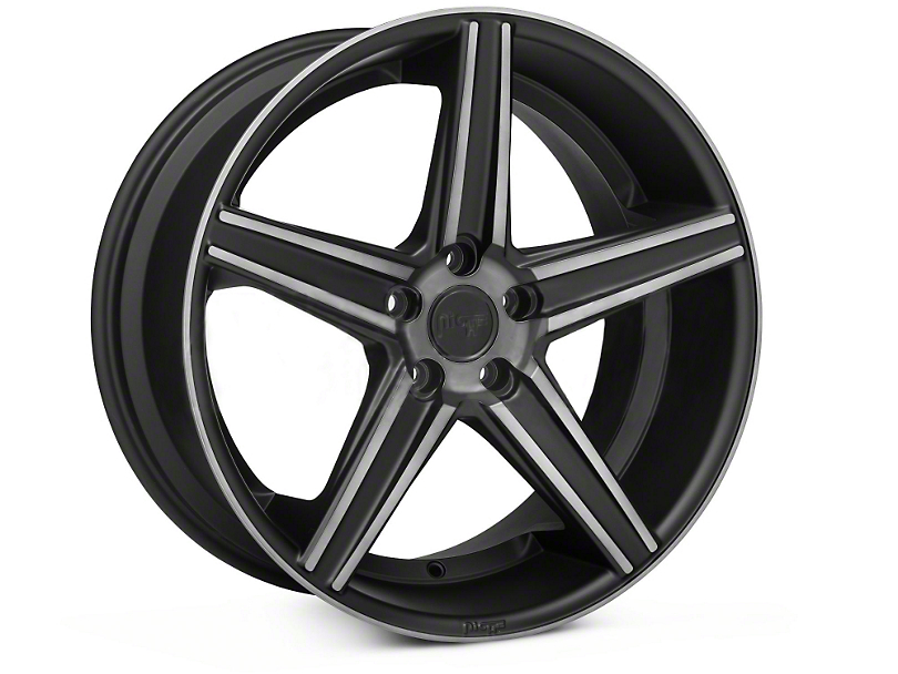 Niche Apex Matte Black Wheel - 20x10 (05-14 All)