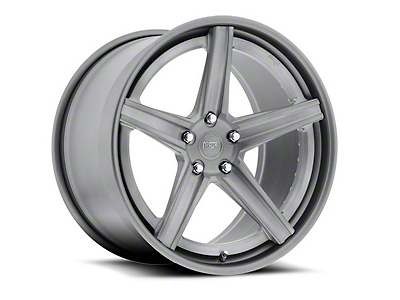 Niche Apex Machined Silver Wheel - 20x8.5 (15-17 All)