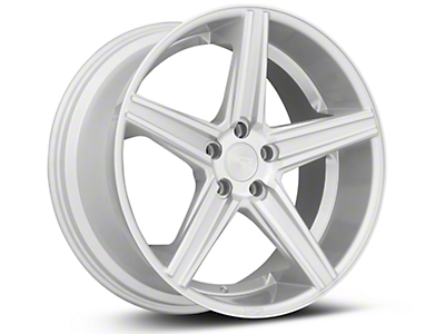 Niche Apex Machined Silver - 20x10 (05-14 All)