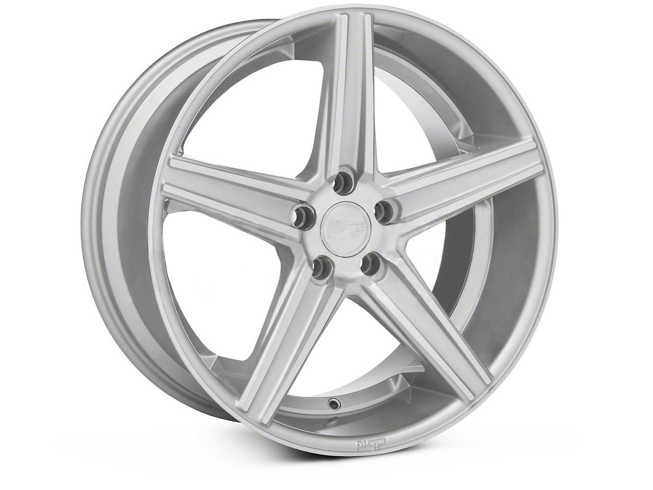 Niche Apex Machined Silver Wheel - 20x10 (05-14 All)
