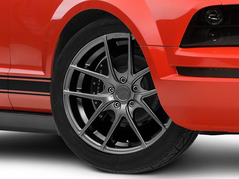 Niche Targa Matte Anthracite Wheel - 19x8.5 (05-14 All)