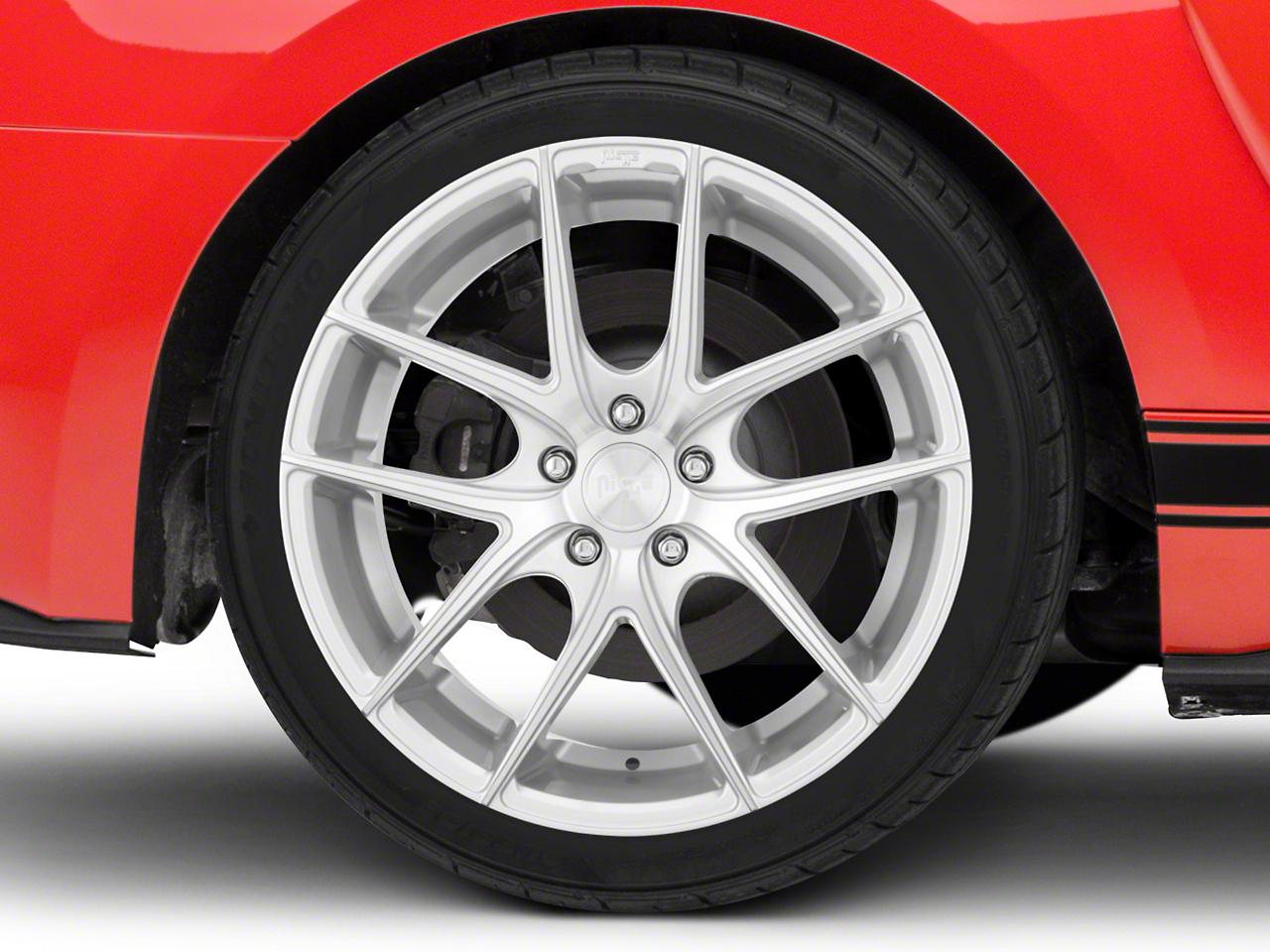 Niche Targa Matte Silver Wheel - 19x9.5 (15-16 All)