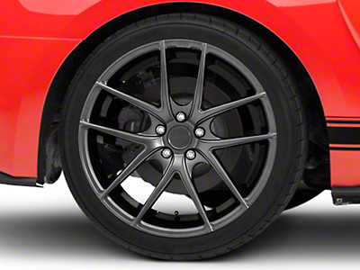 Niche Targa Matte Anthracite Wheel - 20x10 (15-16 All)