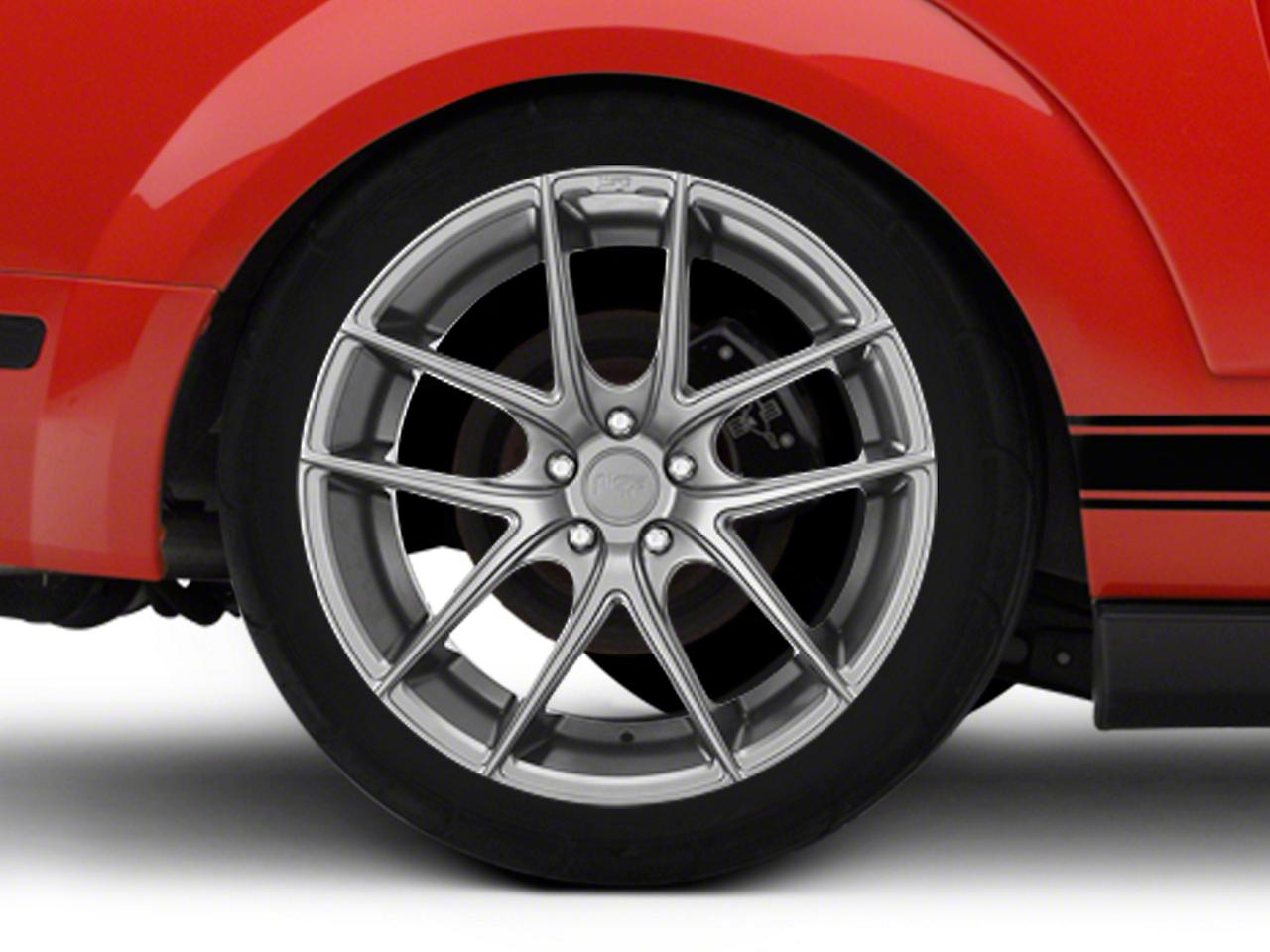 Niche Targa Matte Silver Wheel - 20x10 (05-14 All)