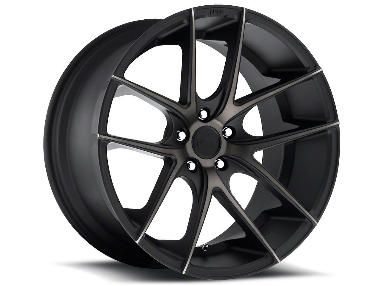 Niche Targa Matte Black Wheel - 20x10 (15-17 All)