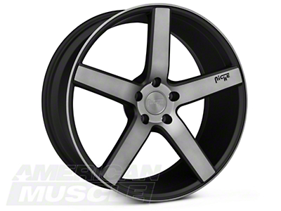 Niche Milan Matte Black Machined Wheel - 20x8.5 (05-14 All)