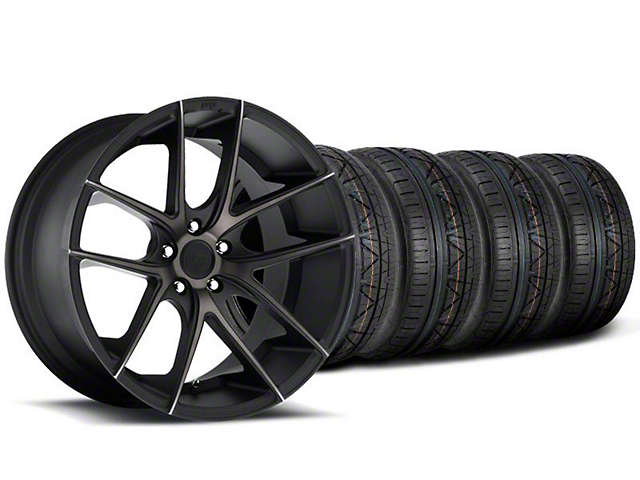 Niche Targa Black Wheel & NITTO INVO Tire Kit - 20x8.5 (05-14 All)