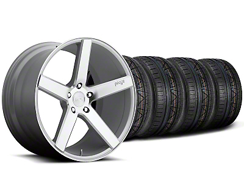 Niche Milan Silver Wheel & NITTO INVO Tire Kit - 20x8.5 (05-14 All)