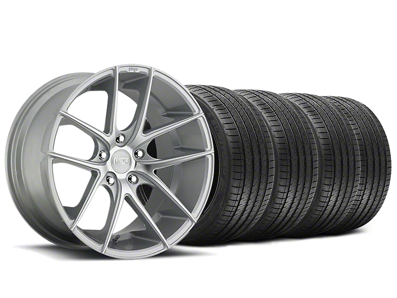 Niche Targa Matte Silver Wheel & Sumitomo Tire Kit - 20x8.5 (05-14 All)