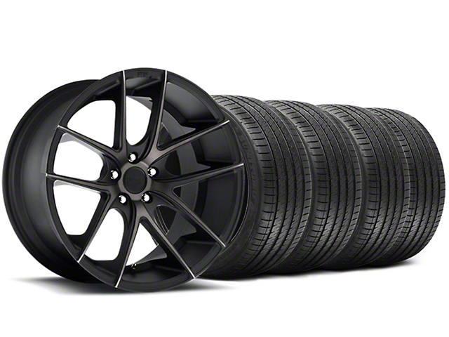 Niche Targa Black Wheel & Sumitomo Tire Kit - 20x8.5 (05-14 All)