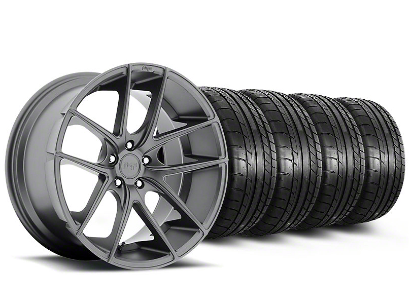 Niche Targa Matte Anthracite Wheel & Mickey Thompson Tire Kit - 20x8.5 (05-14 All)
