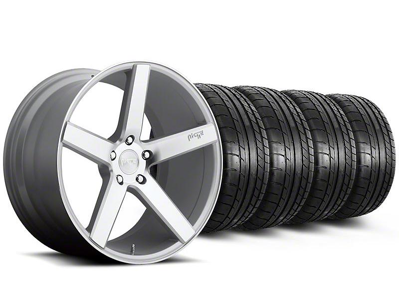 Niche Milan Silver Wheel & Mickey Thompson Tire Kit - 20x8.5 (05-14 All)