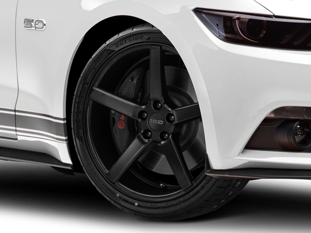 MMD 551C Matte Black Wheel - 20x8.5 (15-17 All)