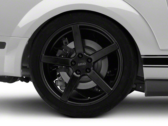 MMD 551C Matte Black Wheel - 20x10 (05-14 All)