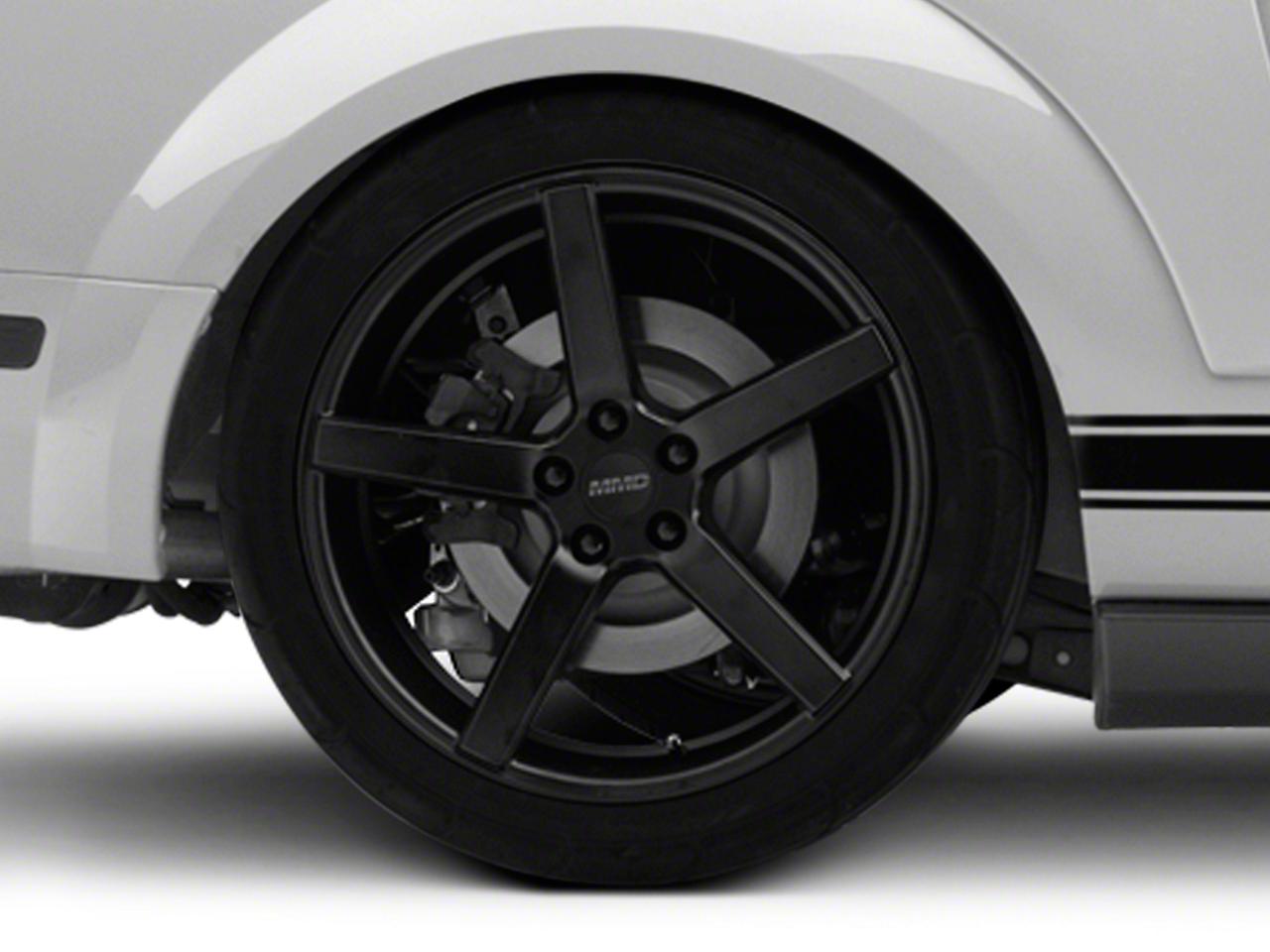 MMD 551C Matte Black Wheel - 20x10 (05-14 All)