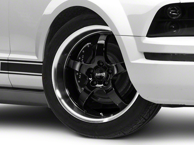 MMD Kage Black Wheel - 19x8.5 (05-14 GT,V6)