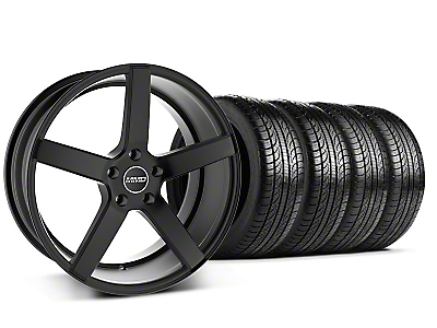MMD 551C Black Wheel & Pirelli Tire Kit - 19x8.5 (05-14 All)