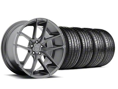Niche Targa Matte Anthracite Wheel & Sumitomo Tire Kit - 19x8.5 (05-14 All)