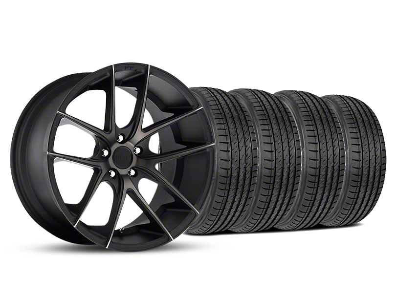 Niche Targa Matte Black Wheel & Sumitomo Tire Kit - 19x8.5 (05-14 All)