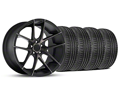 Niche Targa Black Wheel & Sumitomo Tire Kit - 19x8.5 (05-14 All)