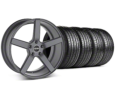 MMD 551C Charcoal Wheel & Sumitomo Tire Kit - 19x8.5 (05-10 GT; 05-14 V6)