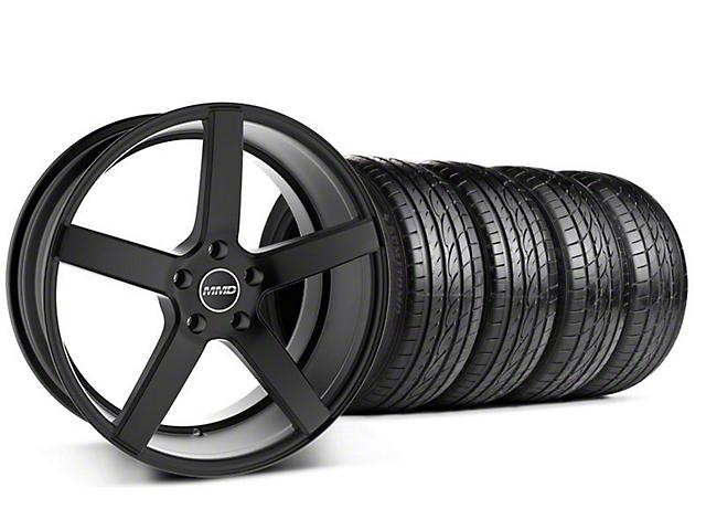 MMD 551C Black Wheel & Sumitomo Tire Kit - 19x8.5 (05-10 GT; 05-14 V6)