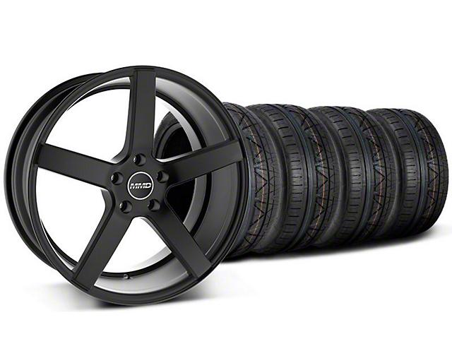 MMD 551C Black Wheel & NITTO INVO Tire Kit - 19x8.5 (05-14 All)