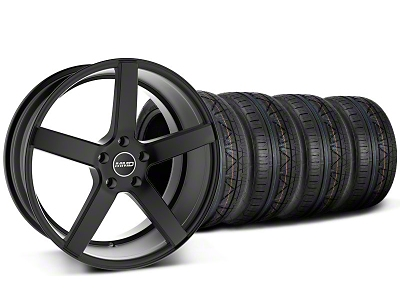 MMD 551C Black Wheel & NITTO INVO Tire Kit - 19x8.5 (05-14 All)